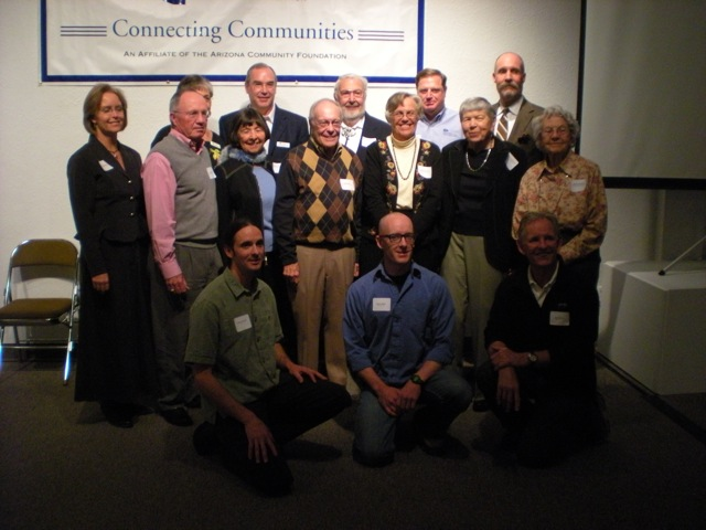 Members of FCF and collaborating organizations after the grant ceremony Friday. (Photo: Kyle Anderson/NAZ Today)